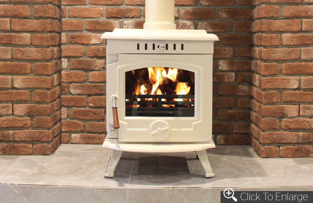The Fire Shop 187 Blog Archive The Skellig 8kw Cream Enamel