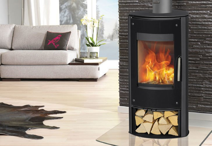 The Zanzibar Black Glass Buy Wood Burners Online